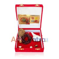 Sphatik Shree Yantra Golden Package