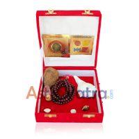 Sphatik Shree Yantra Golden Package