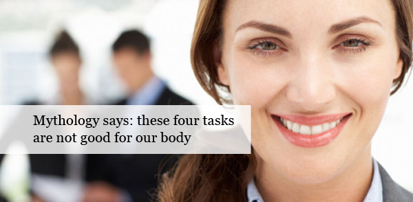four tasks that should not do