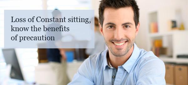 constant sitting