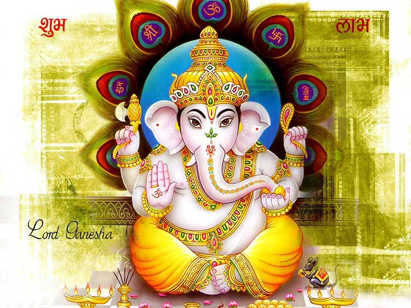 Lord Ganesha Hd Images Free Downloads For Wedding Cards: Free Online God Bhakti Wallpaper Pictures Images Photos