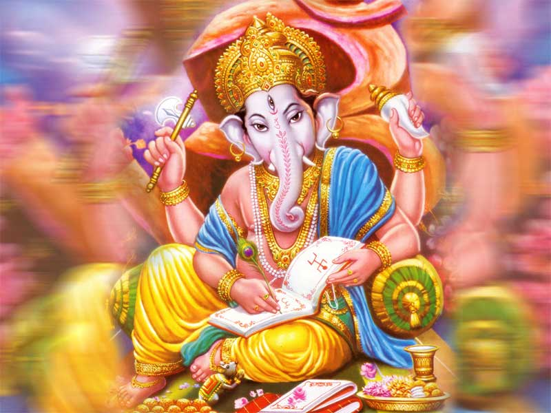 Lord Ganesha Hd Images Free Online: Free Online God Bhakti Wallpaper Pictures Images Photos